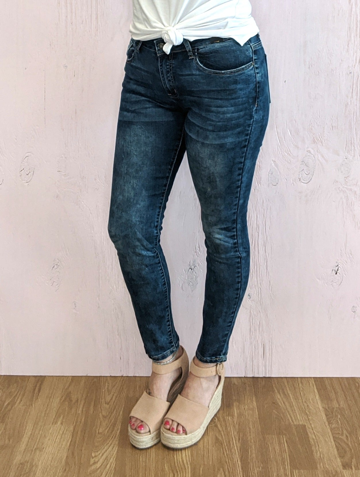 Penny Mid Rise Skinny Jeans *Final Sale*