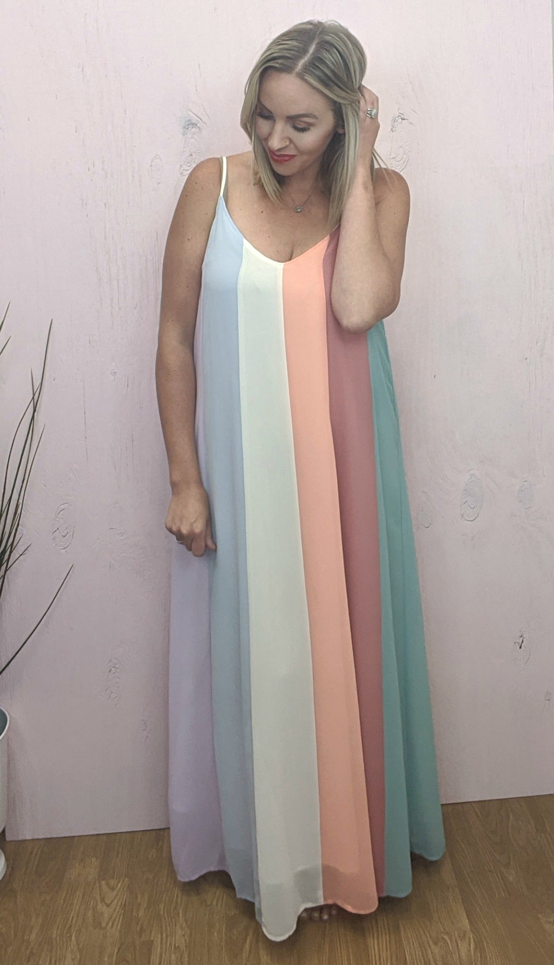 Sydney Colorblock Maxi Dress *Final Sale*