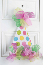 Birthday Hat Door Hanger