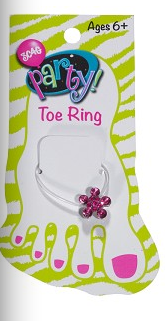 Sparkle Toe Ring