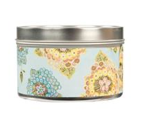 Greenleaf Candle Tin-Bella Freesia