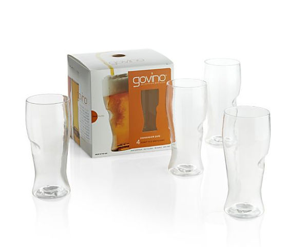 Govino Shatterproof Beer Glasses (set of 4)