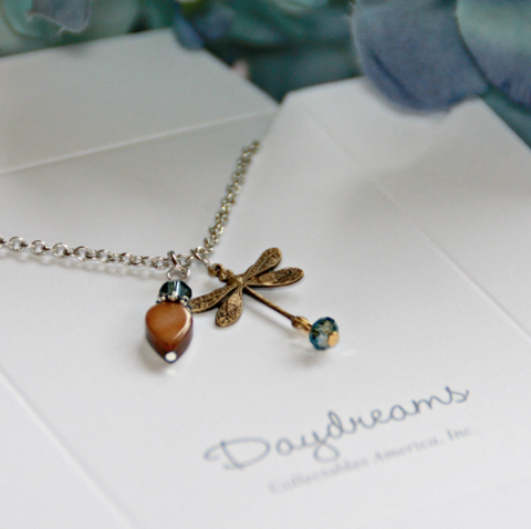 Daydreams Necklace - Dragonfly