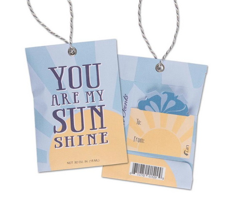 Fresh Scents Gift Tag Sachet