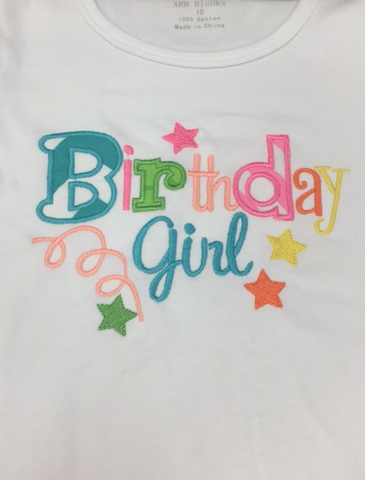 Birthday Girl Long Sleeve Shirt