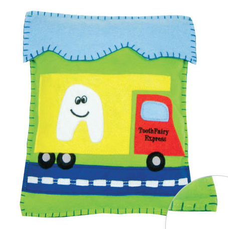 Truck Tooth Fairy Pillow