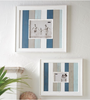 Large Striped Beach Frame