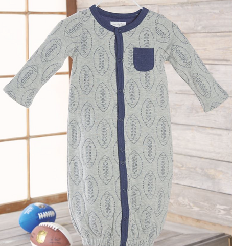 Quilted Convertible Sleep Gown