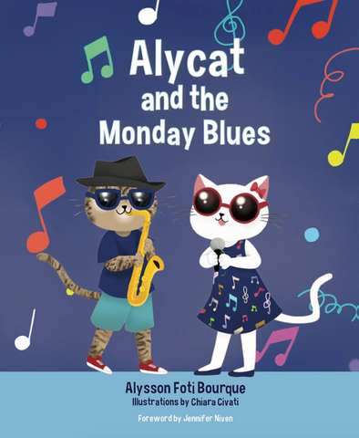 Alycat and the Monday Blues Plush