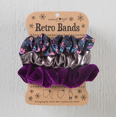 Retro Scrunchies