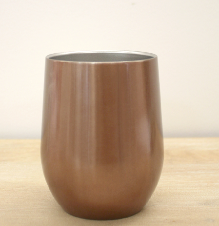 Rose Gold Wine Tumbler