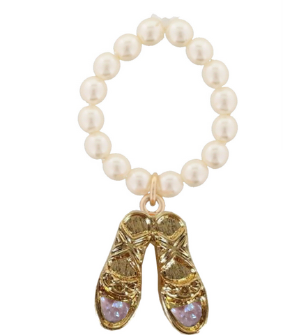 JM Ballet Kids Pearl Stretch Ring
