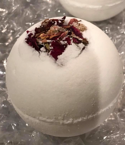English Tea Rose Butter Bath Bomb
