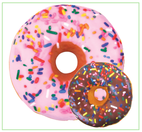 Donut Microbead Pillow