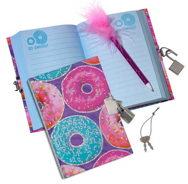Donuts Mini diary with Pen