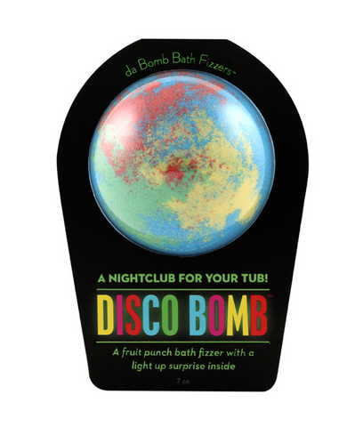 Disco Bomb Bath Fizzer