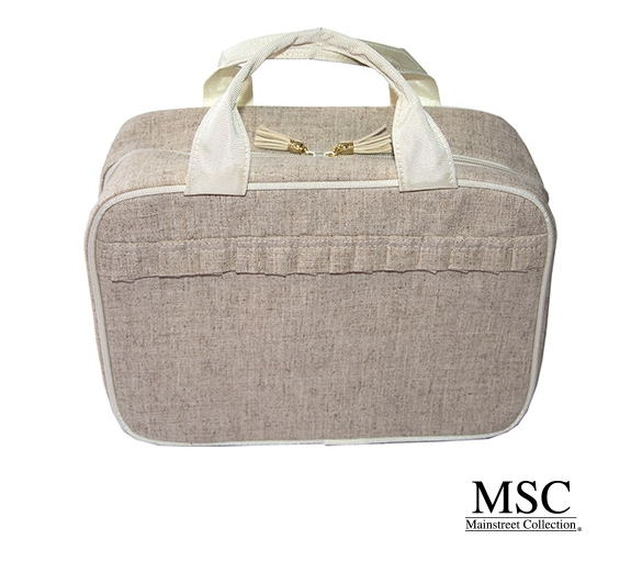 Linen Carolina Cosmetic Case