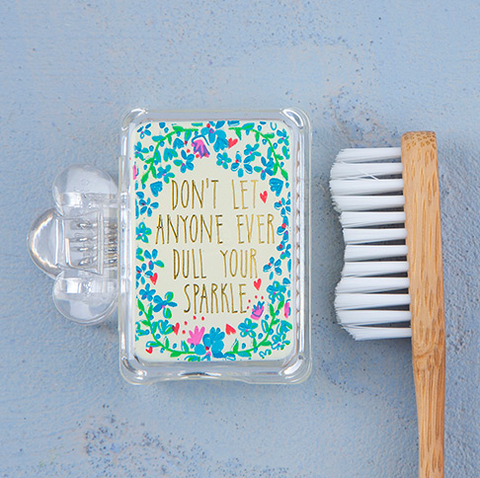 Don't Dull Sparkle Toothbrush Cover