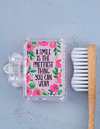 A Smile is the Prettiest Toothbrush Cover