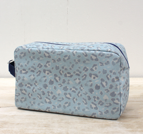 Leopard Cosmetic Bag