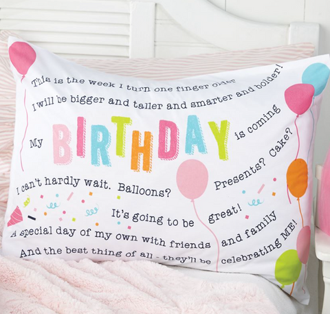 Birthday Girl Pillowcase