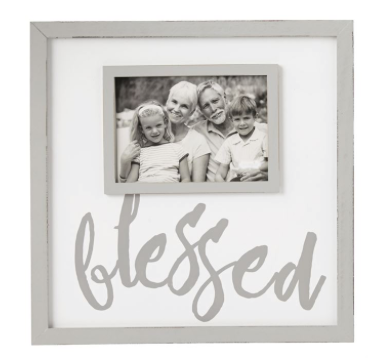 Blessed Gray Frame
