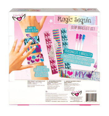 Magic Sequin Slap Bracelet Design Kit