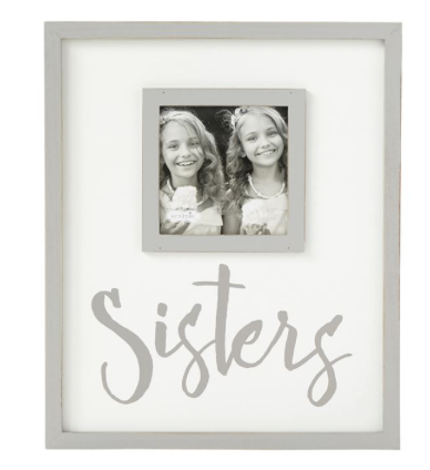 Sisters Gray Wood Frame