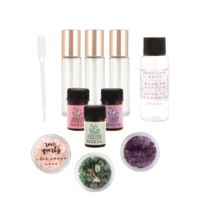 Peace and Positivity Crystal Fragrance Kit
