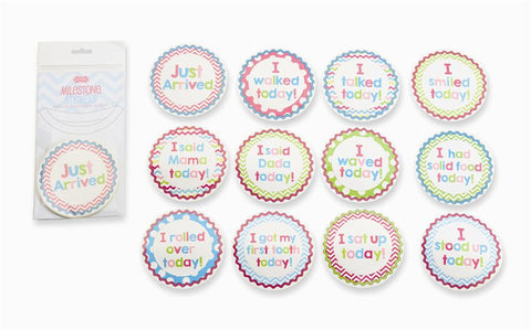 Girl Milestone Stickers