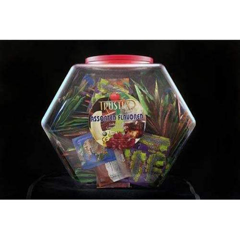 Trustex Assorted Flavors - 288 Piece Fishbowl,Flavored & scented condoms,Top Sex Store