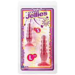 Crystal Jellies Anal Delight Trainer Kit - Pink,Kits & combos,Top Sex Store