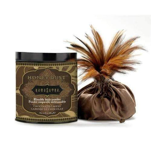 Honey Dust Body Powder - Chocolate Caress - 8 Oz.,Edible body powder,Top Sex Store