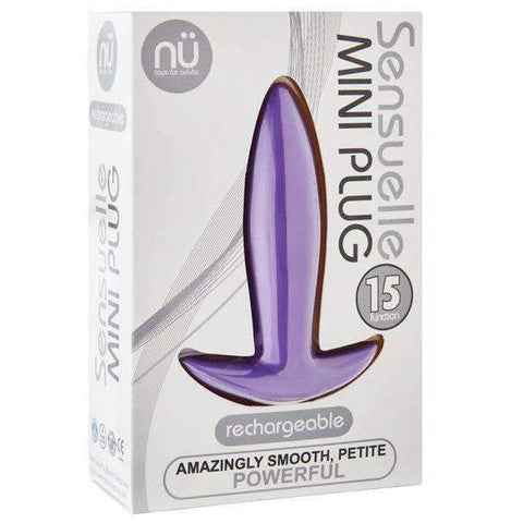 Sensuelle Mini Butt Plug - Purple,Butt plugs,Top Sex Store