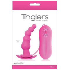 Tingler Vibrating Butt Plug #1 - Pink,Butt plugs,Top Sex Store