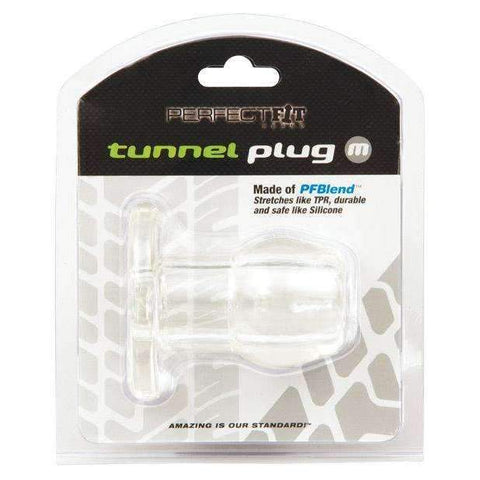 Perfect Fit Medium Tunnel Plug - Clear,Butt plugs,Top Sex Store