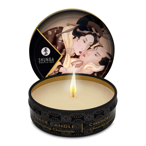 Mini Massage Candle - Excitation - Intoxicating  Chocolate - 1 Fl. Oz.,Bath & Body,Top Sex Store