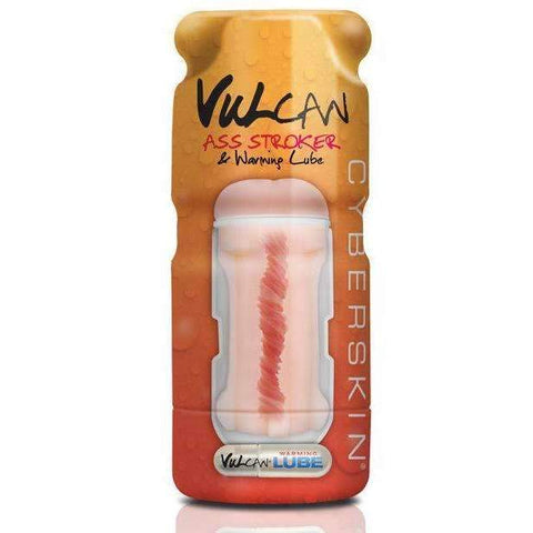Cyberskin Vulcan Ass Stroker w/Warming Lube,Anal masturbators,Top Sex Store