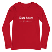 Load image into Gallery viewer, Established Long Sleeve Tee - Youth Revive Apparel