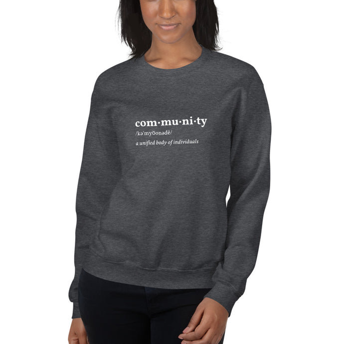 Community Sweatshirt - Youth Revive Apparel