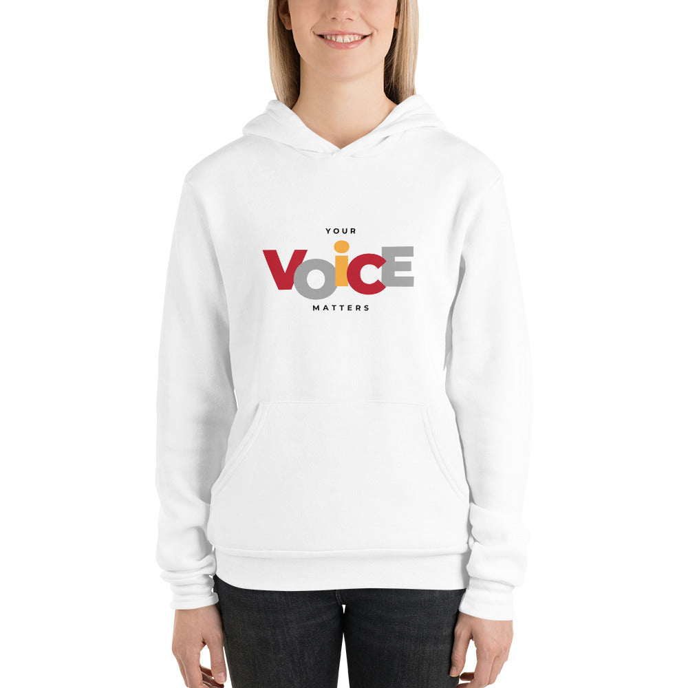 Your Voice Matters Hoodie - Youth Revive Apparel