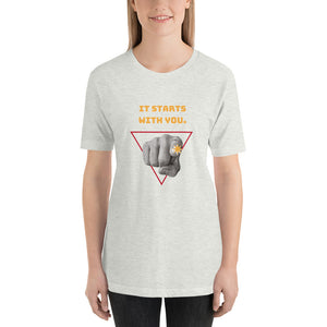It Starts with You T-Shirt - Youth Revive Apparel