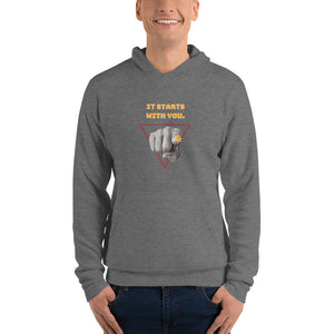 It Starts with You Hoodie - Youth Revive Apparel