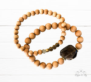 Grounding Smoky Quartz Gemstone Essential Dif
