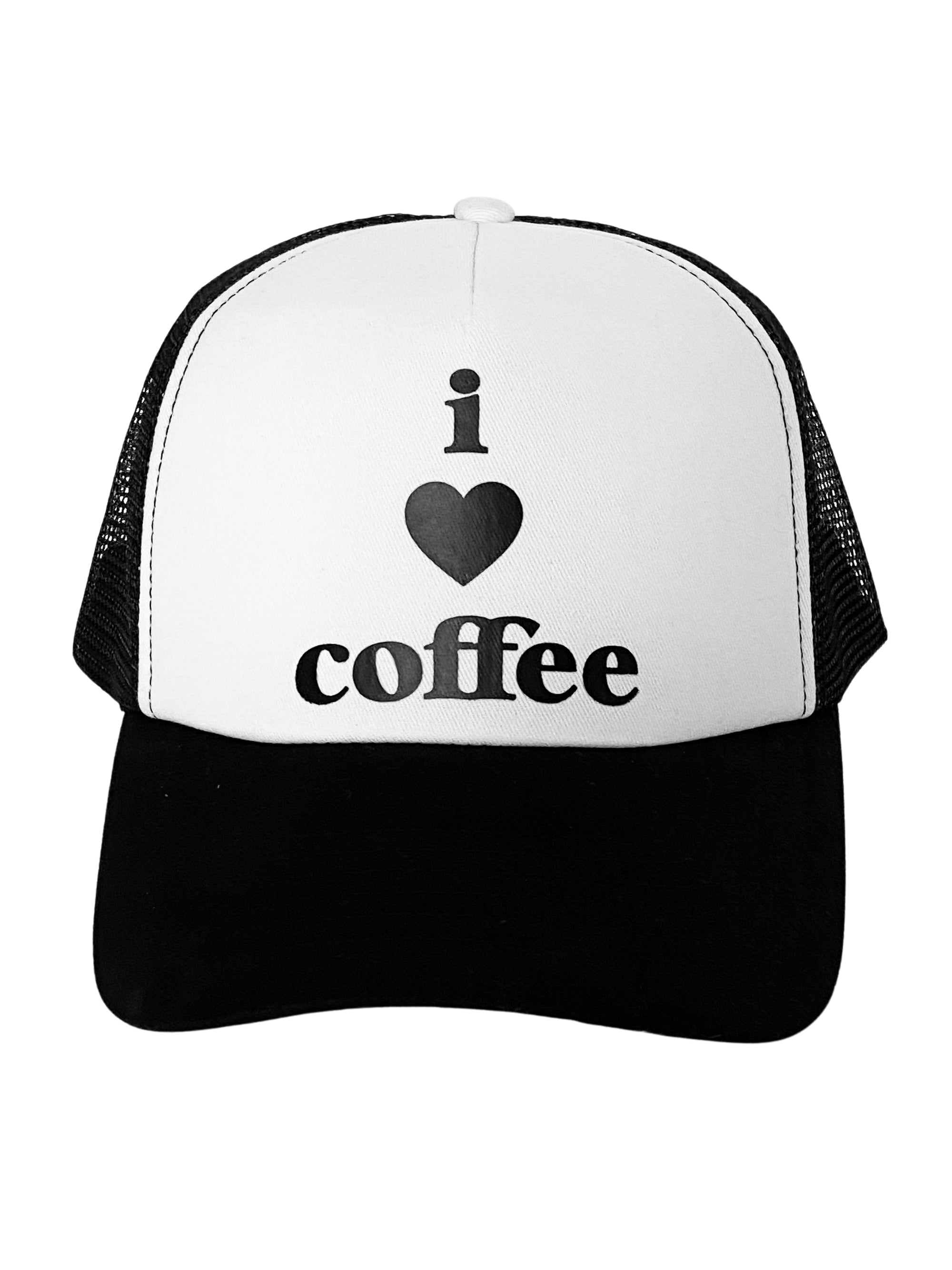 Trucker Hat I Love Coffee