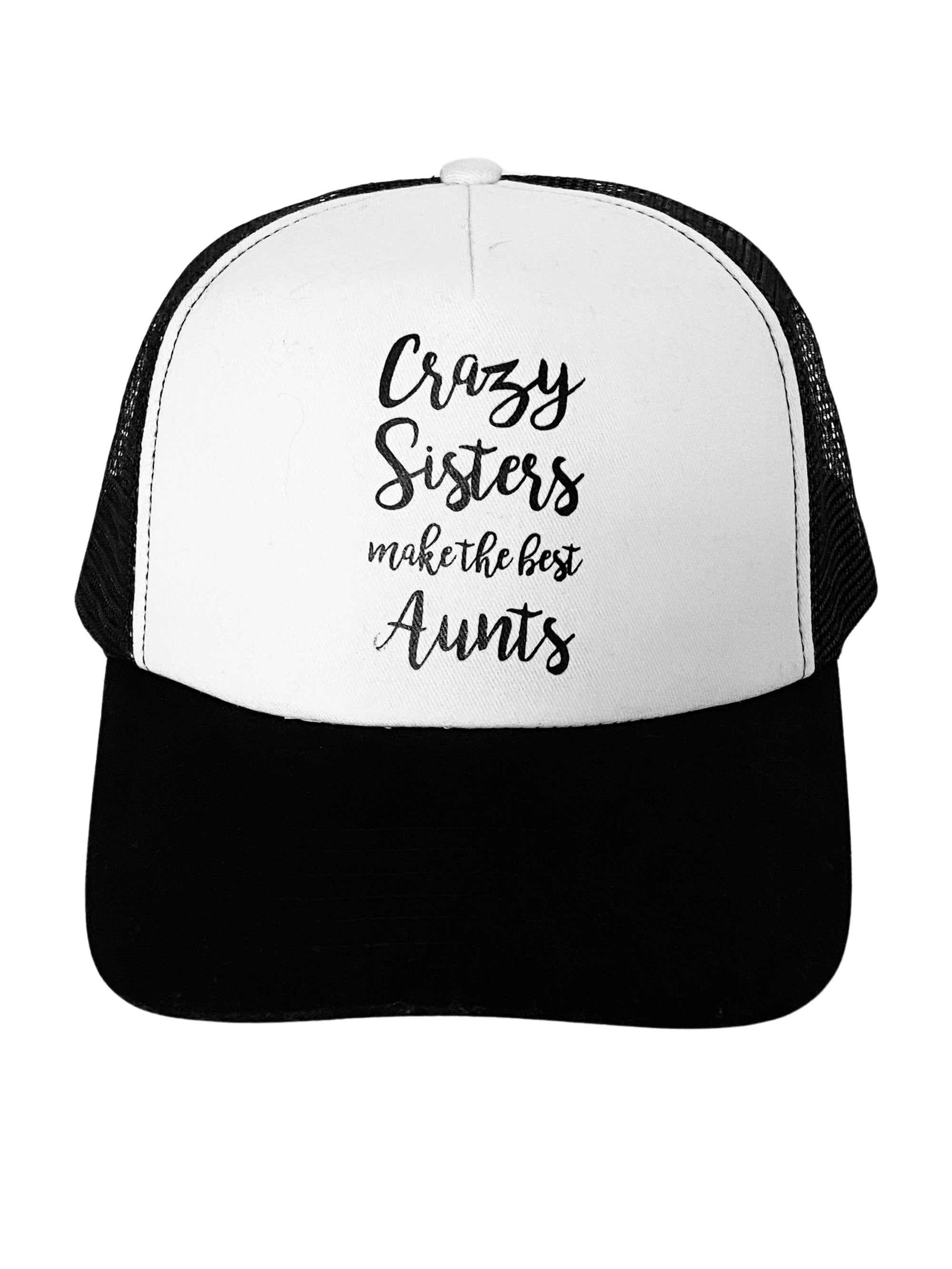 Trucker Hat Crazy Sisters