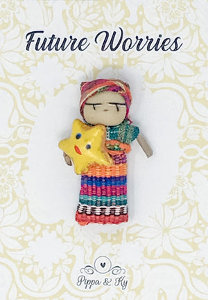 "Guatemalan ""Future Worries"" Worry Doll"