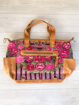 Huipil Floral Convertible Backpack
