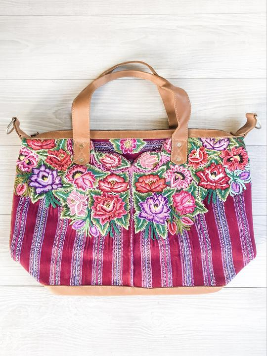 Huipil Floral Convertible Bag