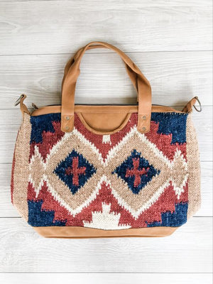 Chrisel Guatemalan Convertible Wool Bag - 10501